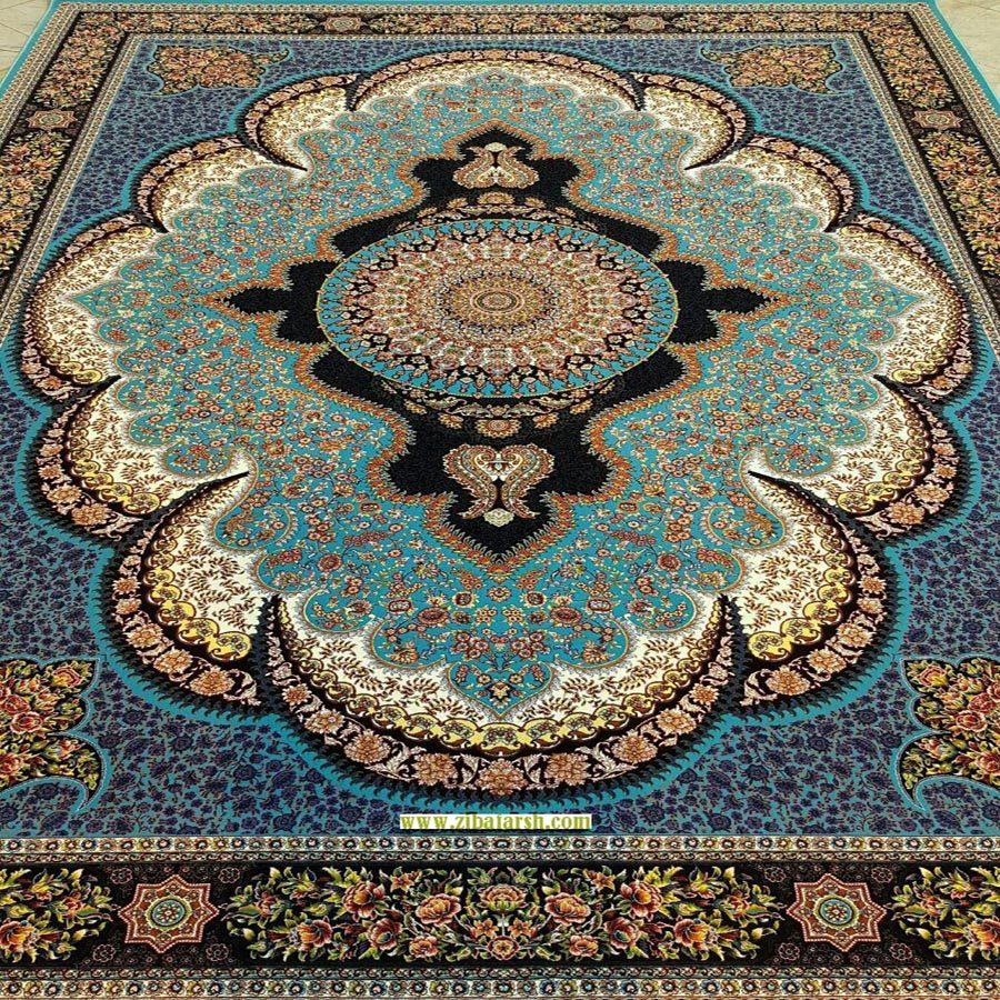 فرش آرشیدا فیروزه ای
