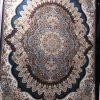 فرش هفتصد شانه ارکیده سرمه ای