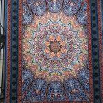 فرش نقش خورشید