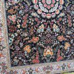 فرش ماشینی گل فرنگ