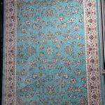 فرش زنبق آبی